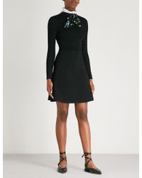 Sandro - Clemence Stretch-knit Dress - Lyst