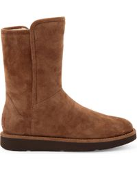 UGG - Abree Short Suede Ankle Boots - Lyst