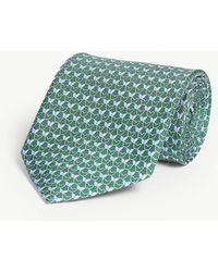 Ferragamo - Butterfly Silk Tie - Lyst