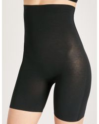 Wolford - Cotton Contour Control Shorts - Lyst