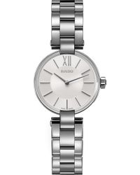 Rado - R22854013 Coupole Stainless Steel Watch - Lyst