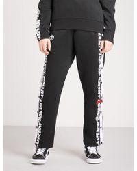 Aape - Logo-print Cotton-blend Jogging Bottoms - Lyst