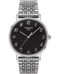 Tissot - T109.410.11.072.00 Everytime Stainless Steel Watch - Lyst