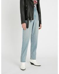 Étoile Isabel Marant - Corsy Faded High-rise Relaxed-fit Jeans - Lyst