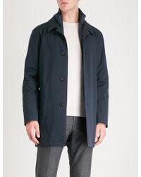 Corneliani - Layered Wool And Cotton-blend Jacket - Lyst