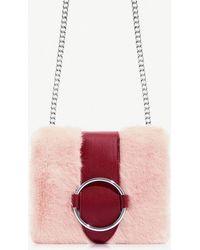 Skinnydip London - Sugar Ruby Faux-fur Crossbody Bag - Lyst