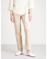 The White Company - Stretch-cotton Chinos - Lyst
