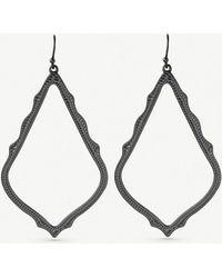 Kendra Scott - Sophee Gunmetal-plated Earrings - Lyst