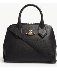 0170a2b78efb Vivienne Westwood - Black Balmoral Small Leather Shoulder Bag - Lyst