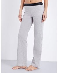 Tommy Hilfiger - Iconic Stretch-cotton Pyjama Bottoms - Lyst