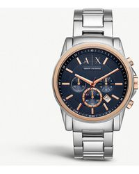 Armani Exchange - Ax2516 Outer Banks Stainless Steel Watch - Lyst