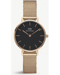 Daniel Wellington - Dw00100217 Melrose Classic Petite Rose Gold-plated Watch - Lyst