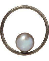 Annoushka - Hoopla Pearl 18ct White-gold Pendant - Lyst