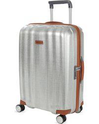 Samsonite - Lite-cube Deluxe Four-wheel Spinner Suitcase 68cm - Lyst