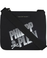 Philipp Plein - Morfeo Leather Cross-body Bag - Lyst