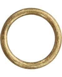 Annoushka - Hoopla 18ct Yellow-gold Small Hoop Pendant - Lyst