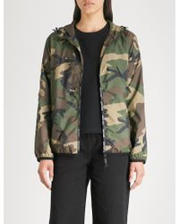 Chocoolate - Camouflage-print Shell Jacket - Lyst