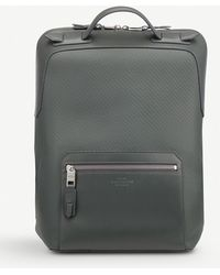 Smythson - Greenwich Large Leather Backpack - Lyst