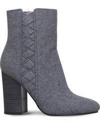 Nine West - Carensa Textile Ankle Boots - Lyst