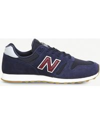 New Balance - Ml373 Suede And Mesh Trainers - Lyst