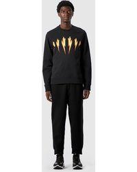 Neil Barrett - Flame Bolt Sweatshirt - Lyst