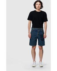 JW Anderson - Logo Grid Shorts - Lyst