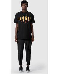 Neil Barrett - Flame Bolt T-shirt - Lyst