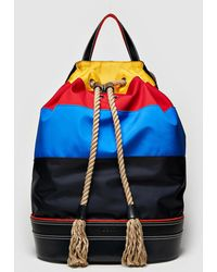 JW Anderson - Navy Sailor Backpack - Lyst