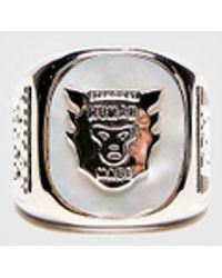 Human Made - University Ring Silver - Lyst