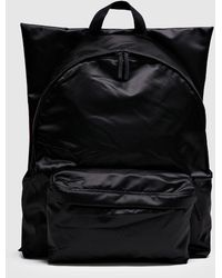 de12fd04bc Yohji Yamamoto Logo-print Canvas Backpack in Black for Men - Lyst