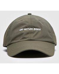 Lyst - MKI Miyuki-Zoku Ripstop Nylon Cap in Black for Men 64bcde885778