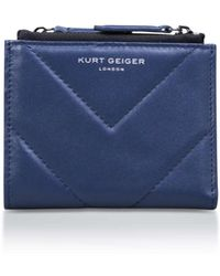 Kurt Geiger - Leather Mini Purse - Lyst