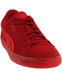 db230eb96c00 Lyst - Puma Suede Classic Badge Iced Ankle-high Running Shoe - 14m ...