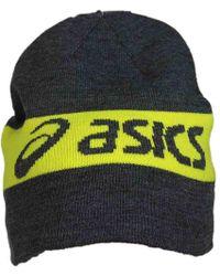 61c6b32352b Asics - Printed Thermal 2-n-1 Beanie - Lyst