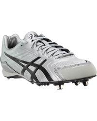 19e100c08f58 Asics Base Burner Baseball Shoe in Gray for Men - Lyst