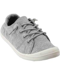 e2c5d4a75d0 Lyst - Madden Girl Grey Bailey Slip On Sneakers in Gray