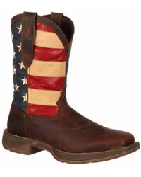 Durango - Rebel By Patriotic Pull-on Western Flag Boot - Lyst
