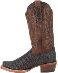 Double H Boot - 13 Inch Cattle Baron Wide Square Toe Western - Lyst