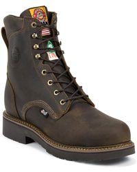 Justin Boots - Balusters Bay Gaucho Pr Steel - Lyst