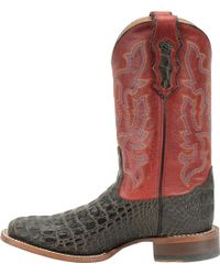 Double H Boot | 12 In Wide Square Toe Roper Caiman | Lyst
