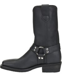 Double H Boot - Leroy - 11 Inch Mens Black Wide Square Harness - Lyst