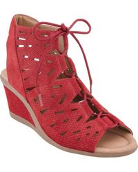 Earth - Daylily Wedge Sandal - Lyst