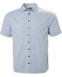 Helly Hansen - Hp Club Quick Dry Short Sleeve Shirt - Lyst