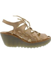 Fly London - Yexa916fly Cage Wedge Sandal - Lyst