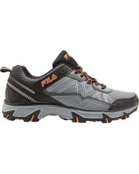 47339508d6 Lyst - Fila At Peake 18 Wide Trail Shoes in Brown for Men