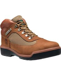 Timberland | Field Leather/fabric Waterproof Boot | Lyst