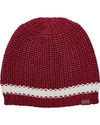 San Diego Hat Company - Crochet Knit Beanie With Cuff/pom Pom Knh3475 - Lyst