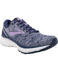 47cdd7f9a5f Brooks - Ghost 11 (blue navy coral) Women s Running Shoes - Lyst