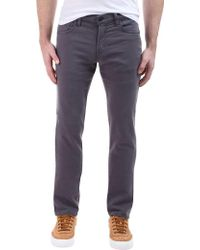 J Brand - Kane Straight Fit In Keckley Soot - Lyst