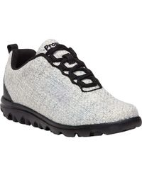 Propet - Travelactiv Woven Sneaker - Lyst